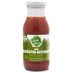 mein wilde wiese kräuter ketchup / geräucherte Tomaten / Kräuter Mix
